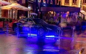 Картинка Maserati, Москва, night, Moscow