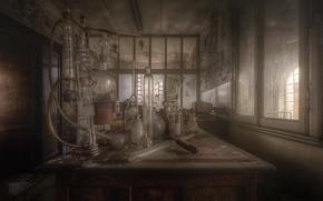 Картинка фон, приборы, лаборатория