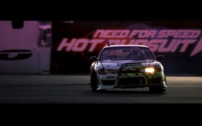 Картинка Silvia, Nissan, drift, need for speed, hot pursuit