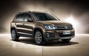 Картинка Volkswagen, фольксваген, Tiguan, тигуан