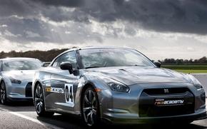 Картинка R35, Nissan GTR, race academy