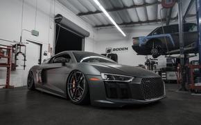 Картинка Audi, V10, Build, 2016, Boden, R8