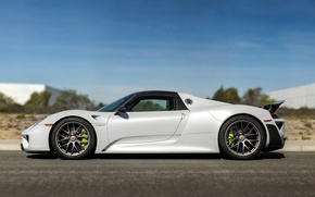 Картинка порше, Spyder, суперкар, 918, Porsche