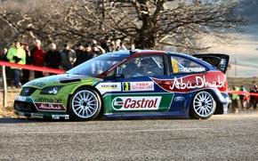 Картинка Ford, Форд, Focus, Hirvonen, WRC, Rally, Ралли, Фокус, Monte Carlo