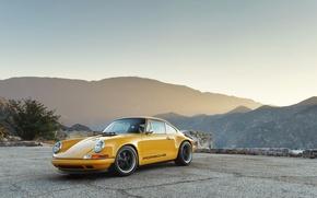 Картинка 911, Porsche, порше, Singer, 2015, Targa, тарга