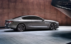 Обои bmw, gran lusso, coupe, 2013, машина, обои, car, wallpapers