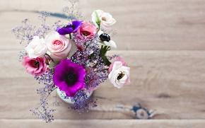 Картинка цветы, букет, лепестки