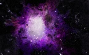 Обои астрономия, Туманность, фотошоп