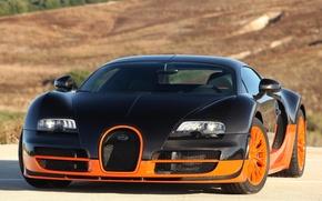 Обои bugatti veyron, 16.4, super sport, быстрый, суперкар