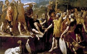 Картинка картина, Джованни Ланфранко, Речь Римского Императора
