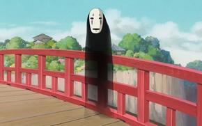 Картинка миядзаки, spirited away, унесенные призраками, безликий