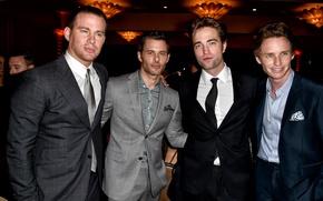 Картинка актёры, Robert Pattinson, Роберт Паттинсон, Джеймс Марсден, James Marsden, Channing Tatum, Ченнинг Татум, Eddie Redmayne, …