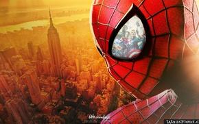 Картинка spider man, avengers, новый человек паук, высокое напряжение, the amazing spider man 2