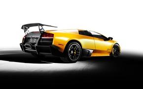 Обои жёлтый, Ламборджини, Lamborghini Murcielago