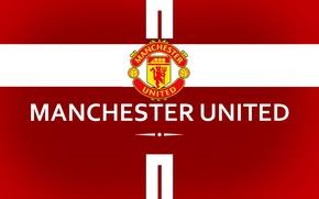 Картинка wallpaper, sport, logo, football, Manchester United