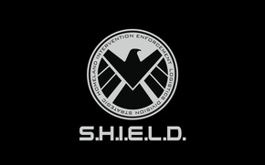 Картинка logo, Marvel, eagle, series, falcon, S.H.I.E.L.D., Agents of Shield, tv series, Marvel Agents of S.h.i.e.l.d., ...