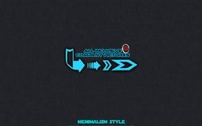 Картинка minimalism, alexcano, all inclusive