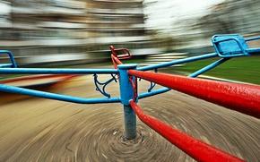 Картинка детство, скорость, карусель