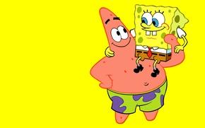 Картинка Губка Боб, Патрик, Sponge Bob