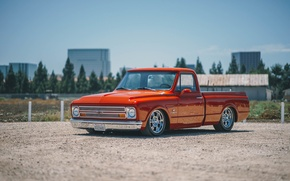 Картинка Chevrolet, 1970, C10, Suspension, Accuair