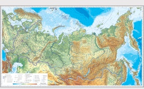 Обои Россия, карта, Russia, география