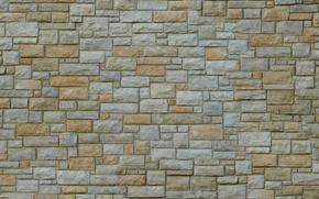 Картинка камни, стена, обои, кладка, объем, рельеф