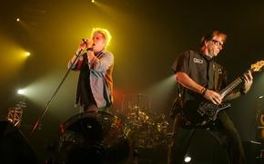 Обои Dexter Holland, The Offspring, Pete Parada, punk rock