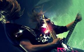 Картинка guitar, rock, rockstar