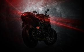 Картинка тюнинг, BMW, БМВ, мотоцикл, фонарь, байк, полумрак, Predator, tuning, F800 R, Custom Bike, Vilner