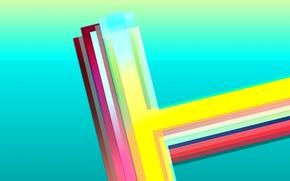 Обои свет, линии, полоса, цвет, текстура, объем, слой