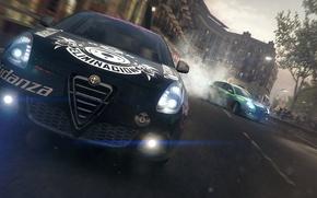 Картинка гонка, game, alfa romeo, race, Tuning, racing, Grid 2, driver, giulietta