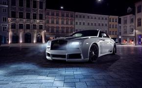 Обои фон, Rolls-Royce, роллс-ройс, Wraith, врайт, Spofec