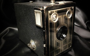 Картинка макро, камера, Kodak Brownie Six-20 Junior
