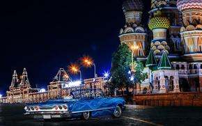 Картинка авто, москва, Chevrolet, шевроле, russia, moscow, Impala, 1963, swag, Ola De Blue