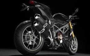 Обои ducati, мотоцикл, хром