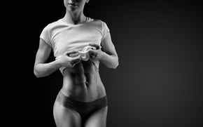 Обои healthy food, exercise, diet, abs, fitness