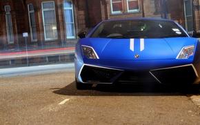 Картинка city, город, supercar, cars, auto, supercars, wallpapers auto, обои авто, Lamborghini Gallardo