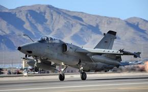 Картинка штурмовик, fighter, тактический, лёгкий, турбореактивный, Air Force Base, AMX, Nellis, Italian Air Force