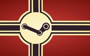 Картинка windows, steam, flag, стим, nazi, red fone