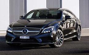 Картинка Mercedes-Benz, мерседес, AMG, амг, C218, AU-spec, бенц, 2015, CLS 500, Sport Package