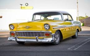 Картинка Chevrolet, Bel Air, Chevy, передок, 1956