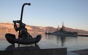 Картинка море, вода, флот, Россия