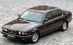 Картинка BMW, 750iL, 1987_Armored, Security_E32_luxury