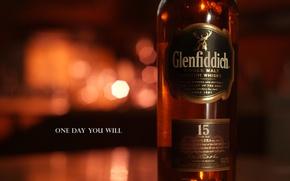 Картинка олень, Виски, Scotland, односолодовый, single malt, glenfiddich, 15 years old