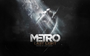 Картинка свет, противогаз, THQ, Metro: Last Light, Бука, 4A Games