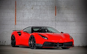 Картинка Ferrari, суперкар, феррари, GTB, 488, VOS Performance