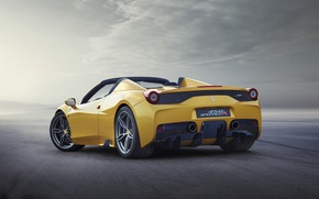 Картинка Ferrari, 458, 2015, Speciale A