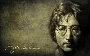 Обои John Lenon, legend, джон ленон, легенда, Beatles, rock, рок