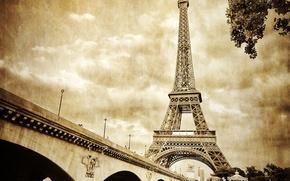 Картинка париж, франция, эфелева башня