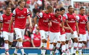 Картинка футбол, football, Arsenal, soccer, football club, fc arsenal
